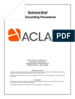 SCE Grounding Procedures Tech Brief