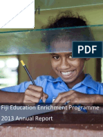 GVI Fiji Education Annual Report 2013
