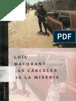 23415473 Wacquan Loic Las Carceles de La Miseria
