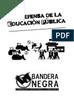 BN -Cuadernillo La Defensa de La Educación Pública
