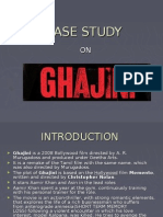 Case Study on ghajini