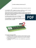 Memorias DDR y DDR2