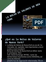 La Bolsa de Valores de New York