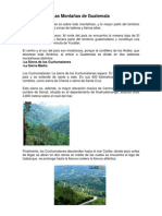 Las Montañas de Guatemala