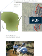 Clean Rivers, Clean Lake 2014 -- Zeroing in on Phosphorus in the Milwaukee River