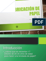 Fabricación de Papel (1)