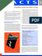 Facts 3 - Perturbações Músculo-Esqueléticas Causadas Pelo Trabalho Na Europa