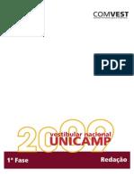 Unicamp 2009-Prova de Redação Comentada