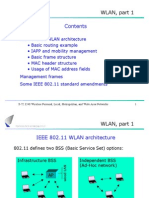 WLAN, Part 1 Contents