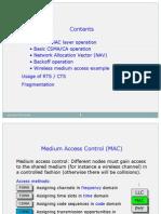 IEEE • • • • 802.11 MAC Layer Operation Basic