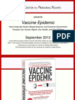 Vaccine Epidemic Slides