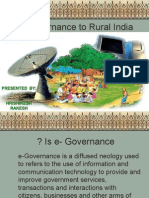 e Governance initiatives in agriculture