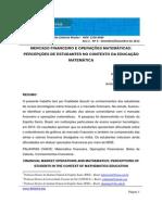 Mercado Financeiro e Operações Matemáticas