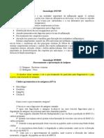 Imunologia - Caderno