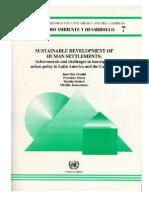 Serie 7 Sustainable Development of Human Settlements