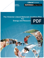 The Victorian Liberal Nationals Coalition Plan for Energy and Resources