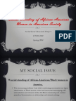 social standing of african-american women in american society