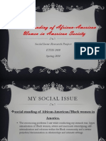 black history month essay african american history ethnicity  social standing of african american women in american society