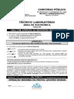 209 - Técnico Laboratório Área de Eletrônica