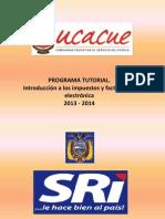 Programa Tutorial Introducción a Los Impuestos y Facturación Electrónica..Doc