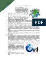 Características Del Proceso de Globalización