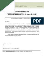 (159275050) Informe Especial Haiti 2010