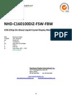 Nhd c160100diz Fsw Fbw