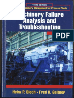 Machinery Failure Analysis & Trouble Shooting