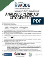 Prova Hemorio Citogenetica 2011