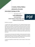 Enfoque Político - Burocrático Documento Docente 8