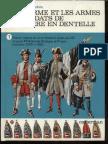 (Uniforms) L&F Funcken (Casterman) - (Lace Wars) l'Uniforme Et Les Arms Des Soldats de La Guerre en Dentelle - Vol.1 - Not Cleaned HQ (150 Plates) Duplicado