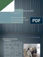 Diapositivas Conceptos Básicos de La Entrevista
