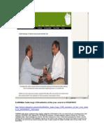 SABMiller India Bags CSR Initiative of the Year Award at INDSPIRIT