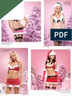 83602 4 PC. Enticing Elf, Includes Lame Plush Trimmed Bikini