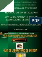 Actualizacion de La Guia de Laboratorio de Energia i