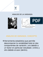 analisis varianza