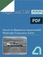 427 ALGAMOD - Giunti Modulari in Acciaio - Steel Modular Joints