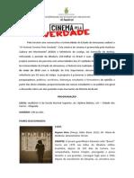 III Festival Cinema Pela Verdade_programação