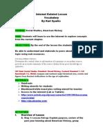 ksparks internet lesson plan