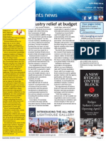 Business Events News for Wed 14 May 2014 - Industry relief at budget, Sydney's $9.4b build plan, Association hub Dubai key, Sitting Pretty and much more