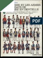(Uniforms) L&F Funcken (Casterman) - (Lace Wars) l'Uniforme Et Les Arms Des Soldats de La Guerre en Dentelle - Vol.2 - Not Cleaned HQ (150 Plates)