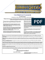 Warhammer Quest [Adventure] Priests of Pleasure