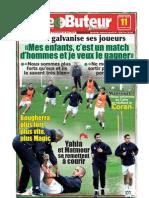 LE BUTEUR PDF du 11/11/2009