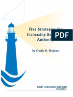 Five Strategies for Increasing Borrowed Authority