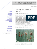 Torture and Death in Custody