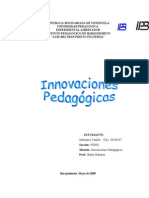 Innovación Pedagógica I