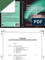 Fundamentals of Electromagnetics