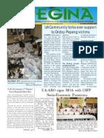 Regina Newsletter Volume 3 No 2 Oct Nov 2009