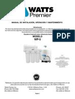 Manual de Filtro en Español
