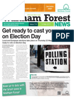 Waltham Forest News 12th May 2014